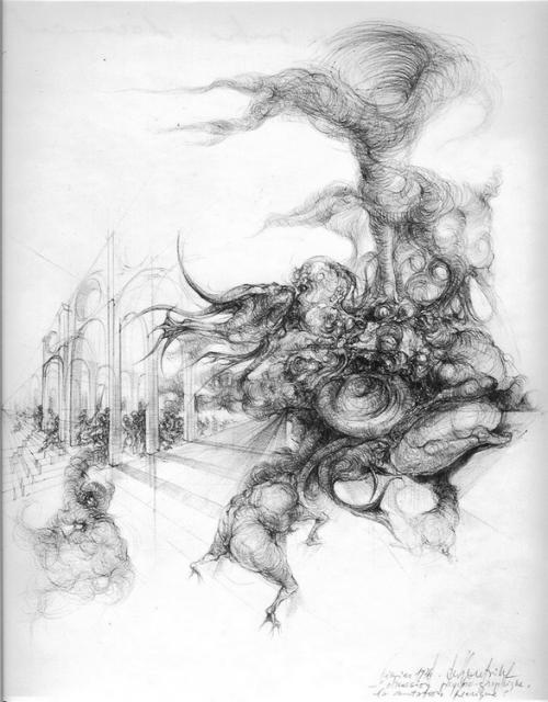 dessin deffontaine, la mutation féérique, 1976
