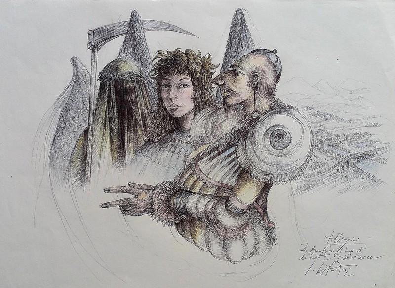 Le bouffon, l`âme et la mort, 2000